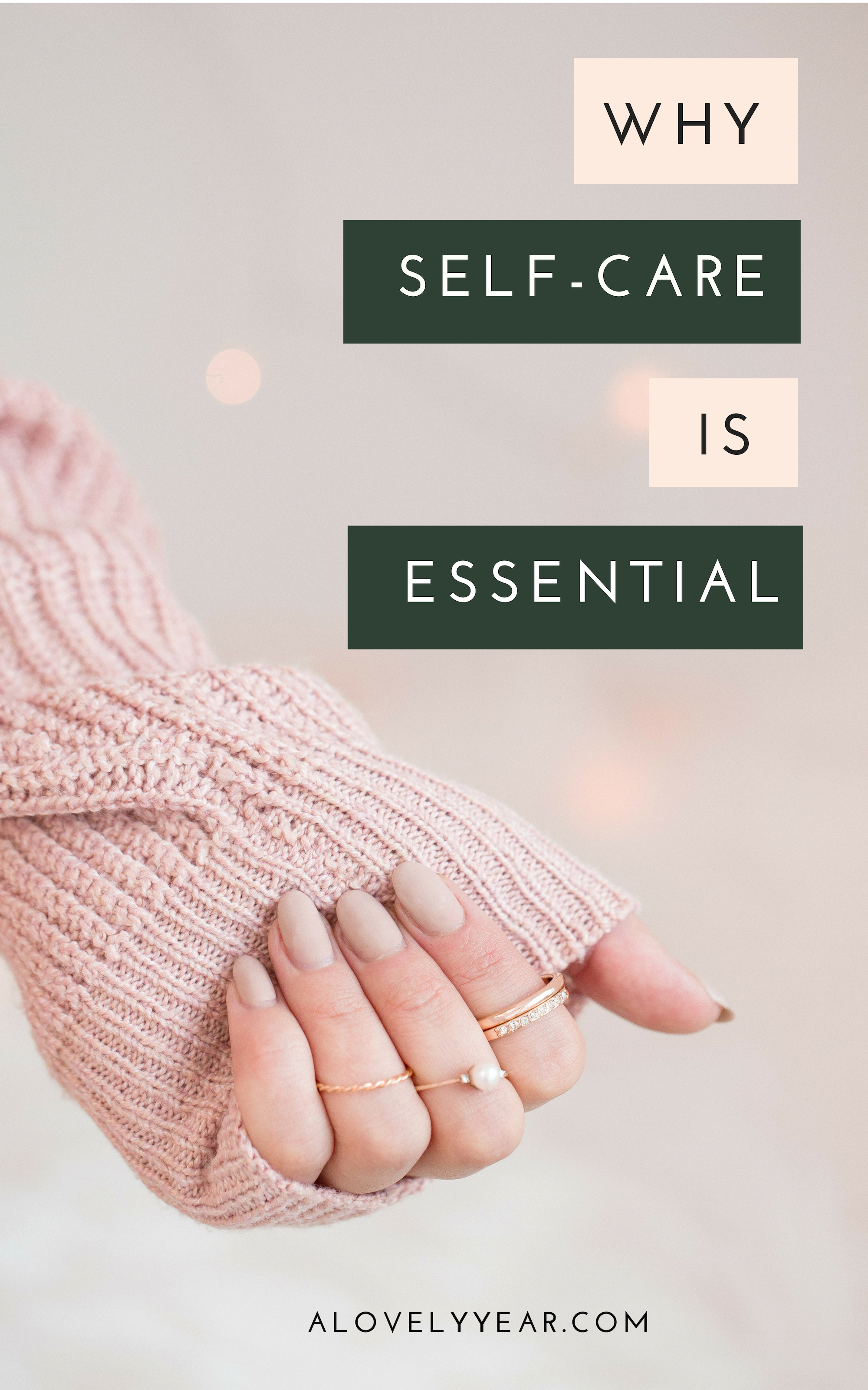 Why you need to prioritise self-care