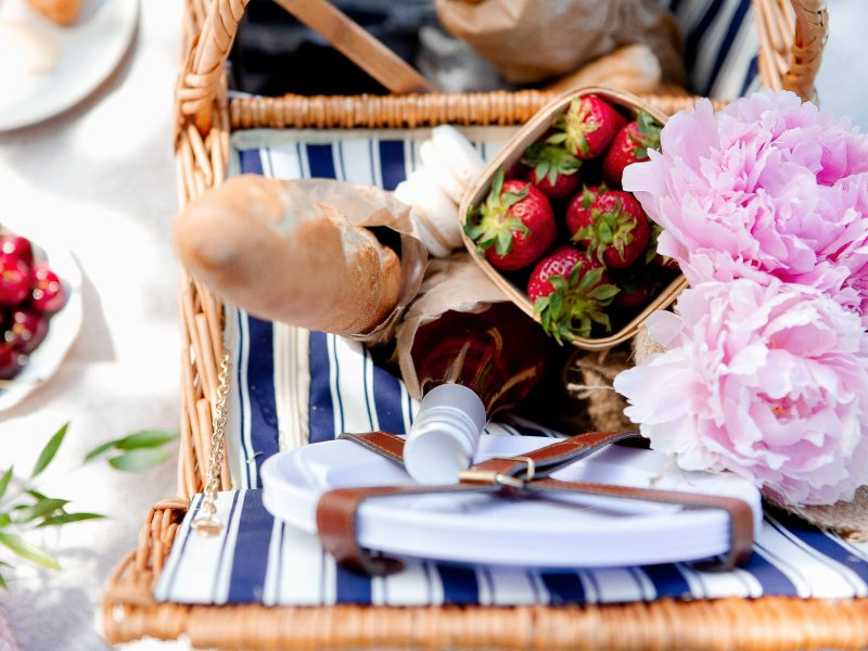 hygge in spring and summer