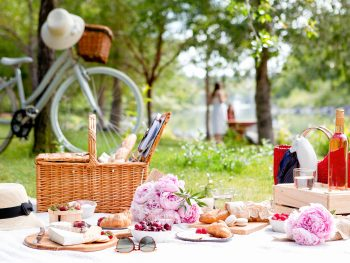 Hygge in the spring and summer