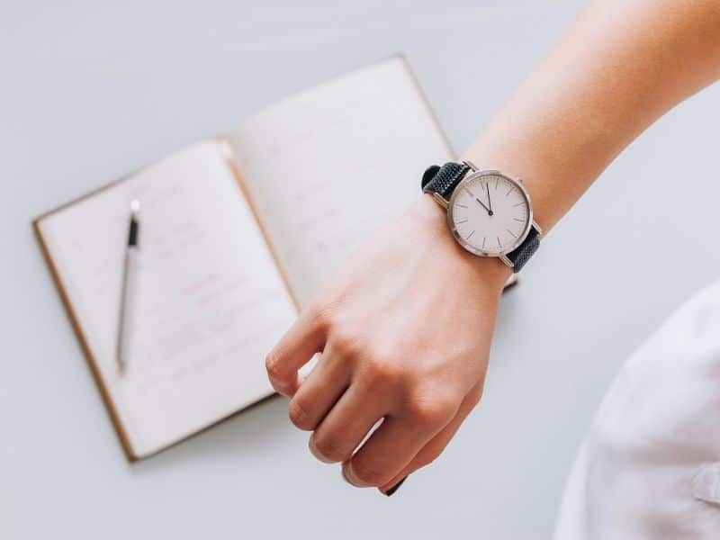 watch - time management tip