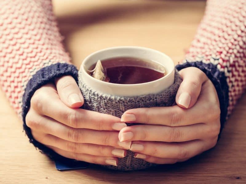 cup of tea - take regular breaks