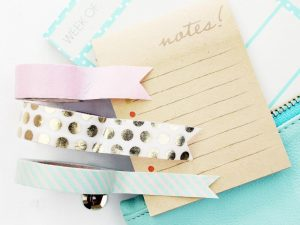 10 Gorgeous Washi Tape Ideas for Your Bullet Journal
