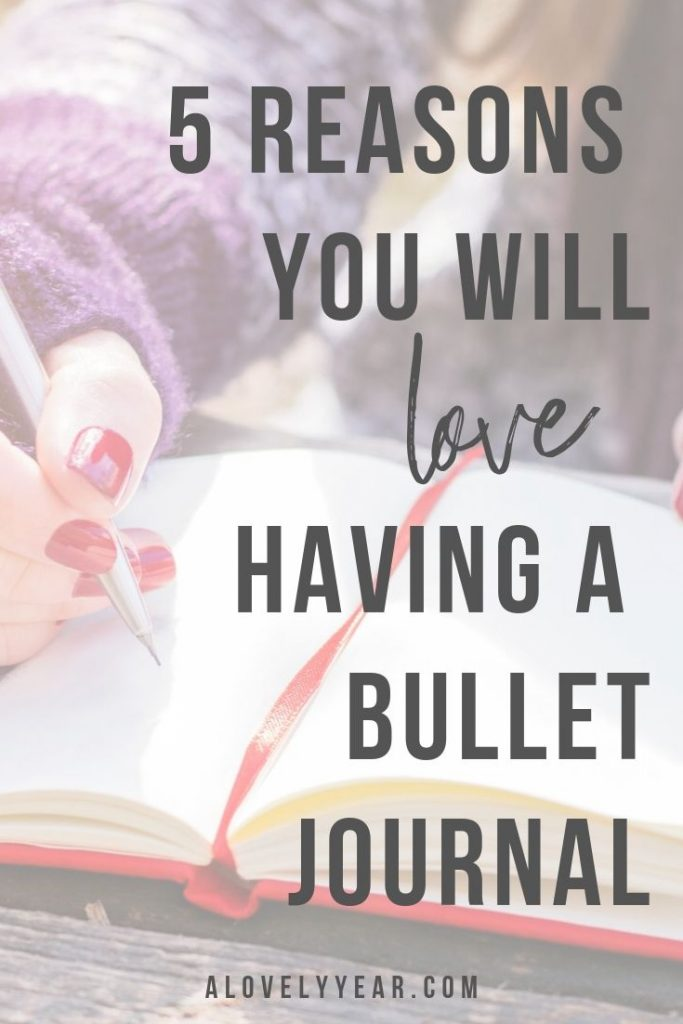 5 reasons you'll love having a bullet journal