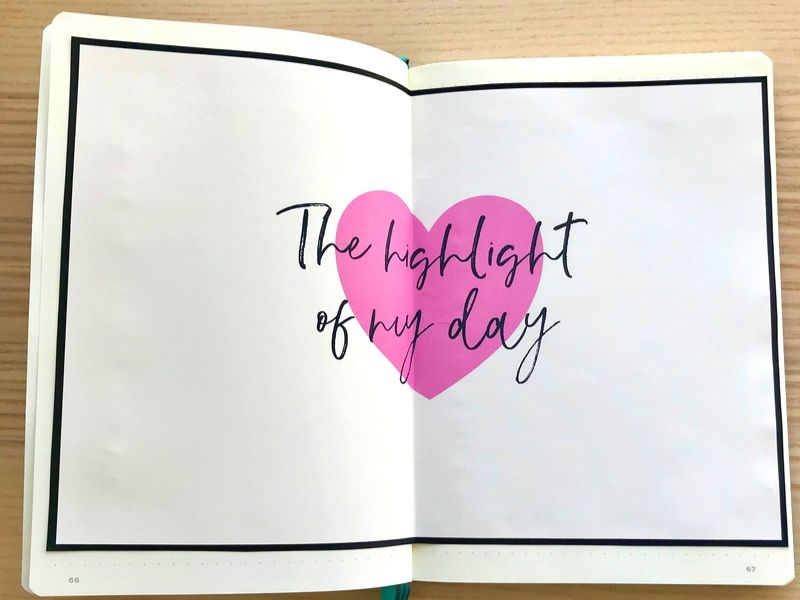 The highlight of my day bullet journal printable