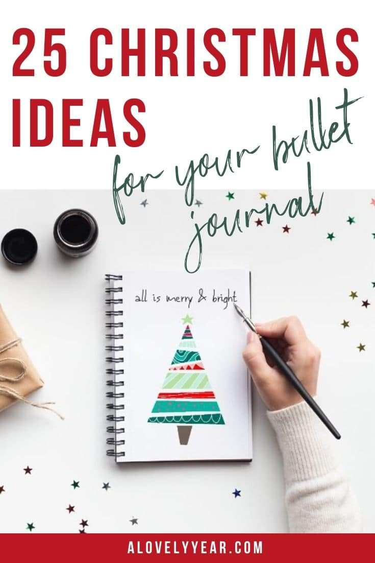 15 Christmas Ideas for your Bullet Journal