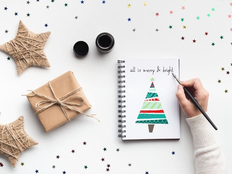 Christmas Ideas Bullet Journal