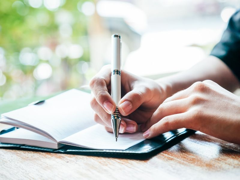 Do you need to write things down?
