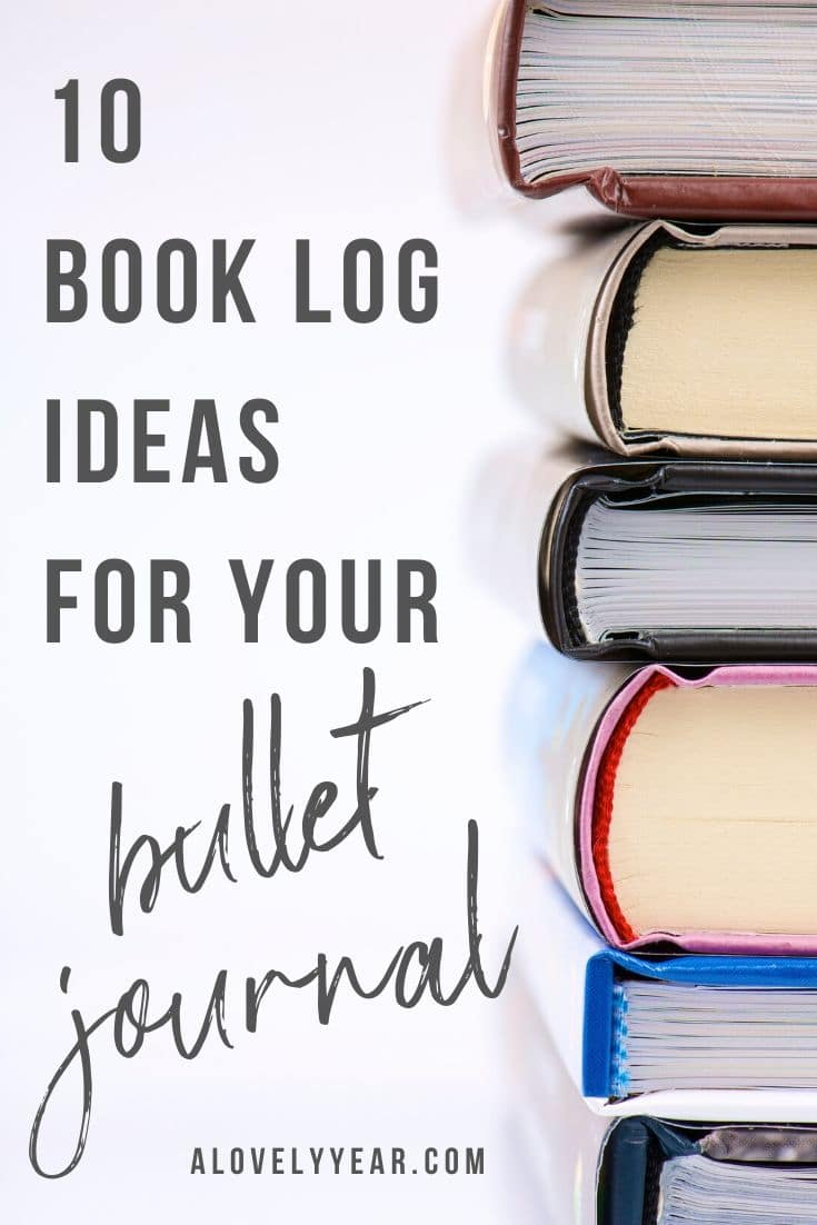 10 book tracker ideas for your bullet journal or planner
