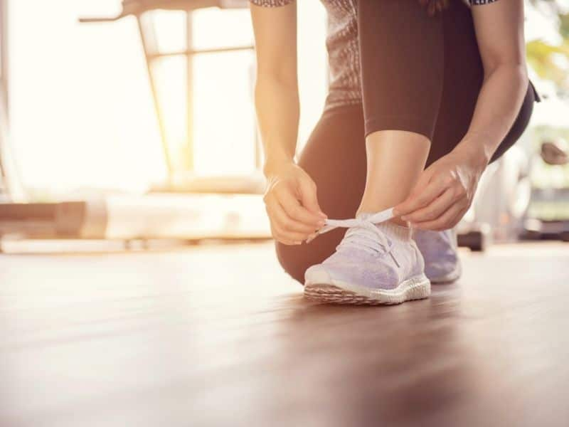 exercise as part of your morning routine