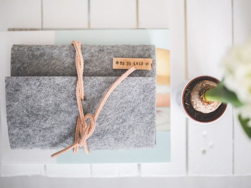 self-care activities at home - get organized