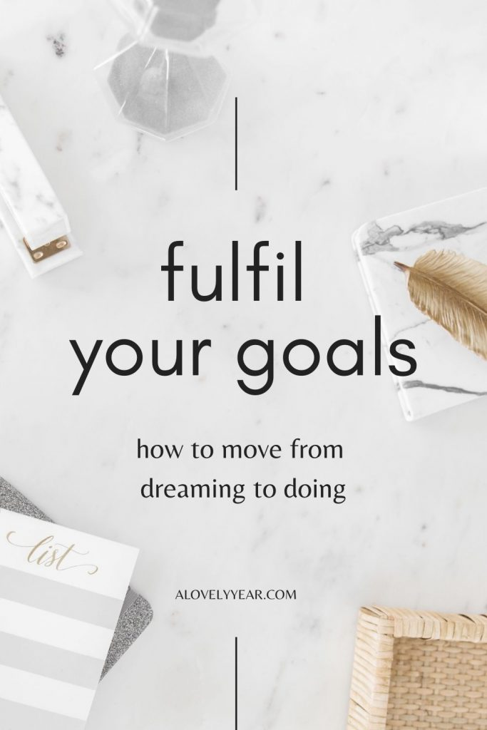 fulfil your goals