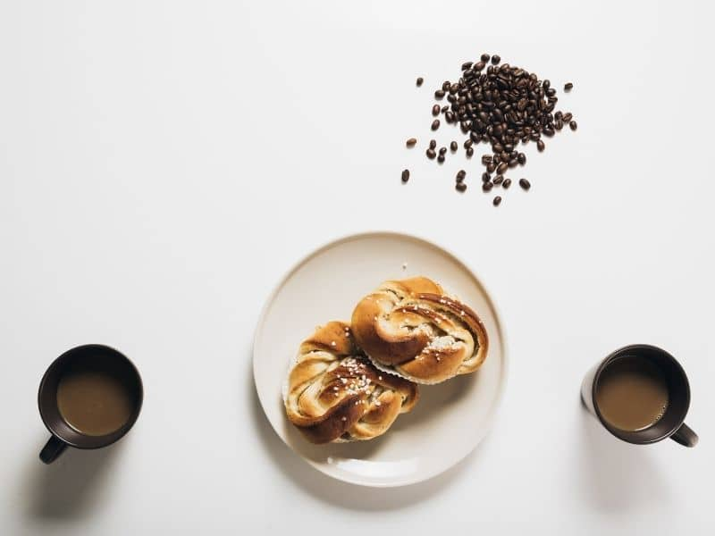 nordic ideas Fika coffee and pastries on a table